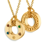 Continuous Life™ Wheel Pendant - 14K Yellow or White